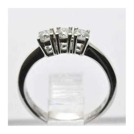 TRILOGY ring and VS carats 0.30 0.45 0.60 0.90 - model (GALAXY)
