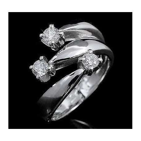 TRILOGY ring and VS carats 0.30 0.45 0.60 0.90 - model (CONSTELLATION)
