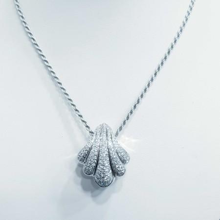 Collana DAMIANI in Oro 18kt e Diamanti Certificati - Lunghezza 45cm