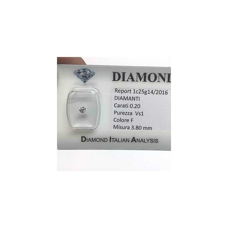 DIAMOND POINT LIGHT 0.20 F color vs1 blister lotto 0.50 1.00 0.70