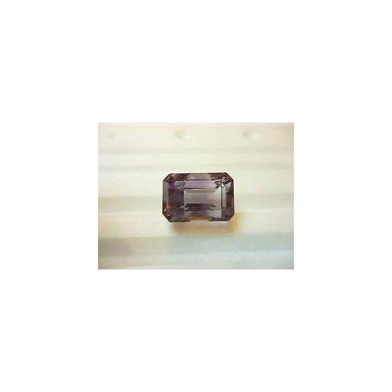 Ametista taglio ottagono smeraldo brasile 19.70 carati lotto 20 30 40