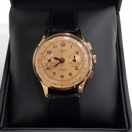 Chronographe Suisse Cie cronografo anni 50