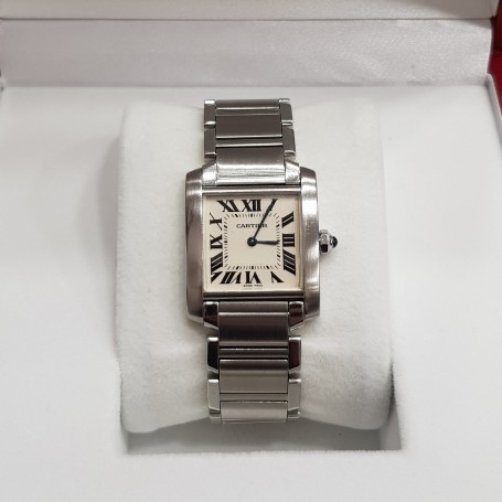 Cartier Tank Francaise big size box and paper