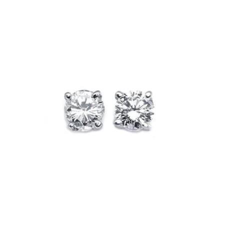 EARRINGS DIAMOND 0.50-CARAT VS1 E COLOR