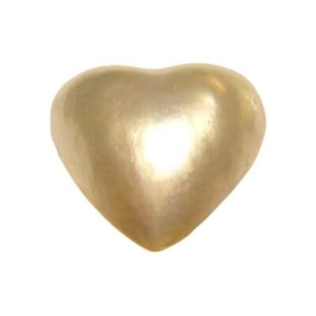 PEARL HEART 11.98 CAR MEASURES 16X 16 mm