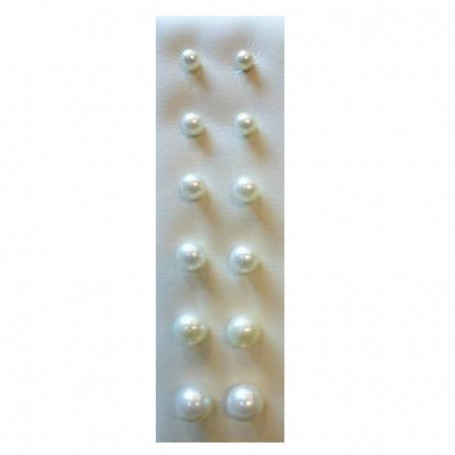 AKOYA pearl earrings from 4 mm to 9 m-choose gold 18 KT discount 60 %