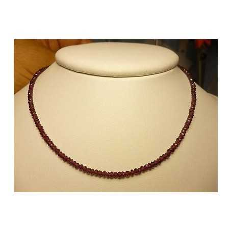 WIRE TOURMALINE RUBELLITE THICKNESS 3 mm, LENGTH 36 CM, RUBY RED