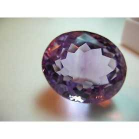 Amethyst oval cut 17.40 carats 16x21 mm Lot