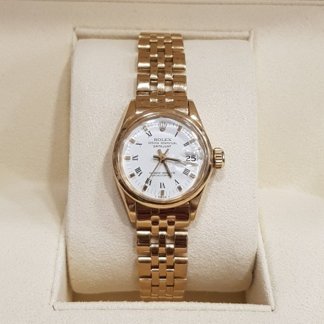 Rolex Lady Datejust gold perfect very rare
