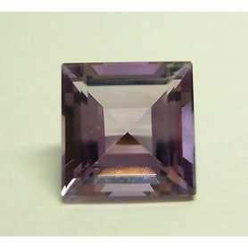 AMETHYST SQUARE CUT 4.30 CARATS 10 mm x 10 mm TOP COLOR