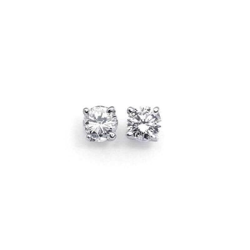 EARRINGS DIAMOND 0.50 CARATS VS1 F COLOR