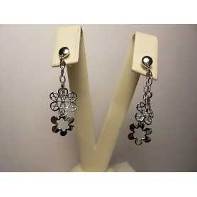 EARRINGS DAISIES ARGENTRO GOLD VALENTINE's day CHRISTMAS EASTER