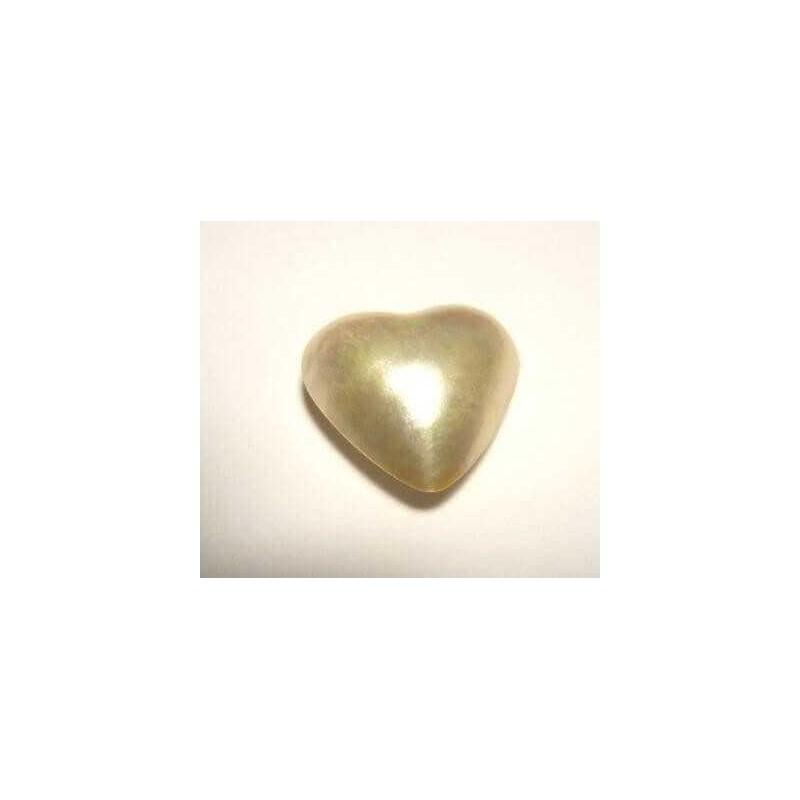 PEARL HEART 11.33 CAR MEASURES 16X 16 mm