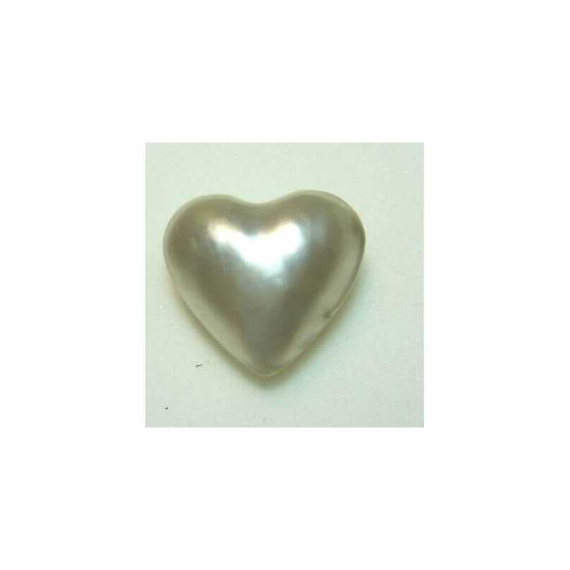 PEARL HEART 12.00 CAR MEASURING 20x20 mm