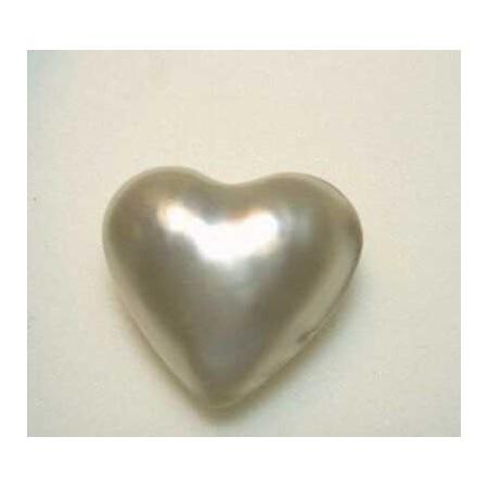 PEARL HEART 13.00 CAR MEASURING 20x20 mm