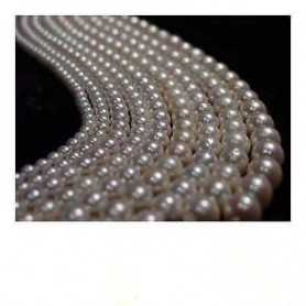 AKOYA PEARLS 7.0 QUALITY AAA + PLATINUM 5-WIRE