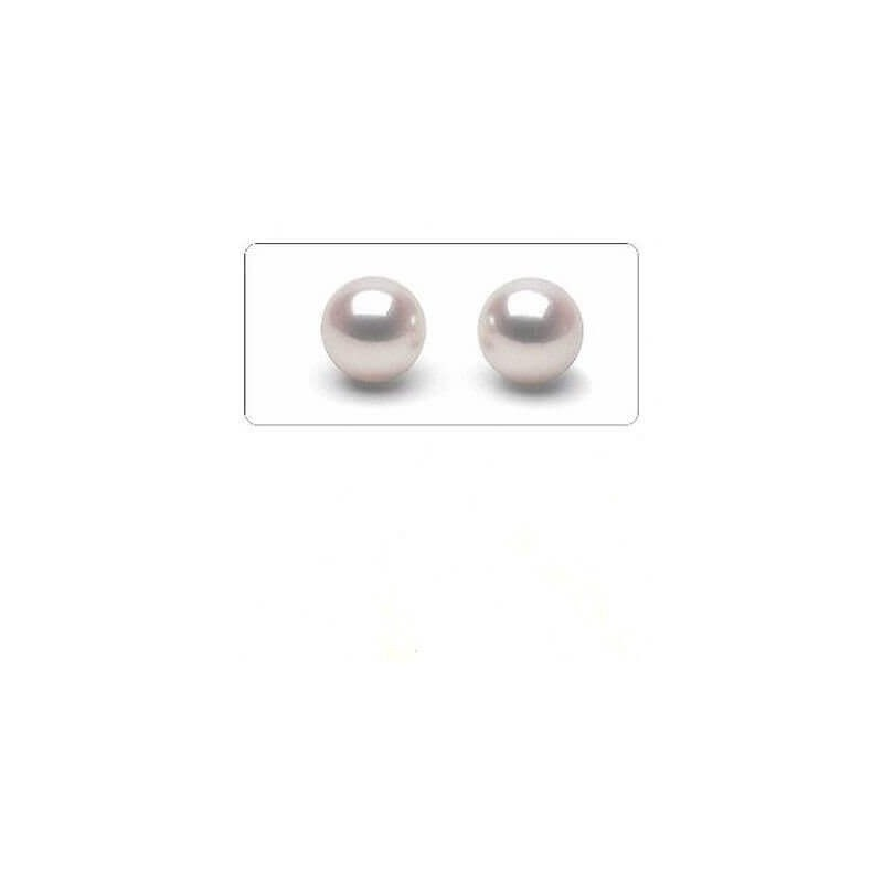 PERLES AKOYA 5.0 mm 1,50 CARAT AAA+ QUALITÉ EXTRA PAIRE