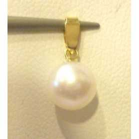 PENDANT in 18KT GOLD with PEARL AKOYA 7mm