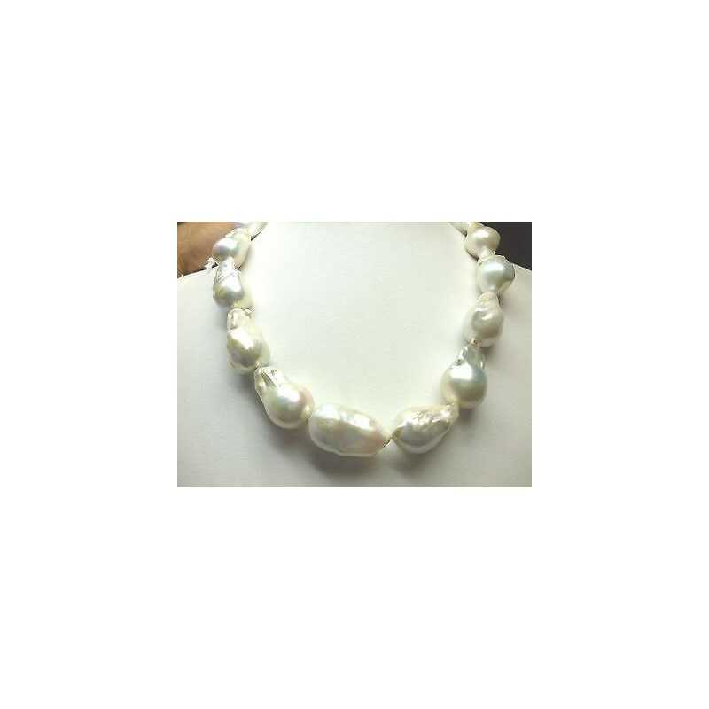 PEARLS JAPAN BIWA SCARAMAZZE PEARL WHITE CT OFF 60 %