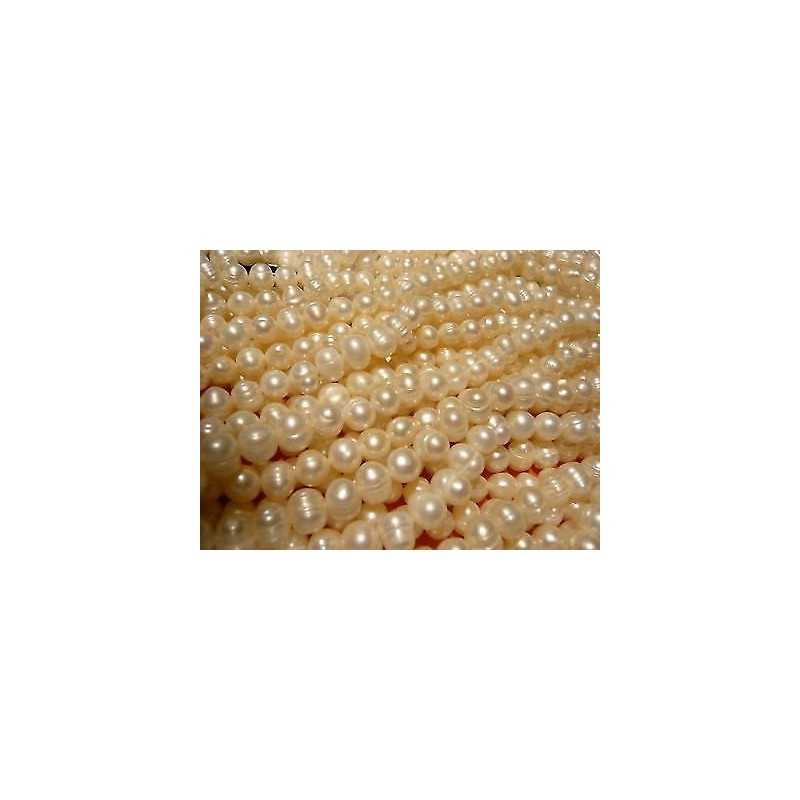 PEARLS NATURAL 200 CT WIRE 50 CM DIAMETER 8.0 mm