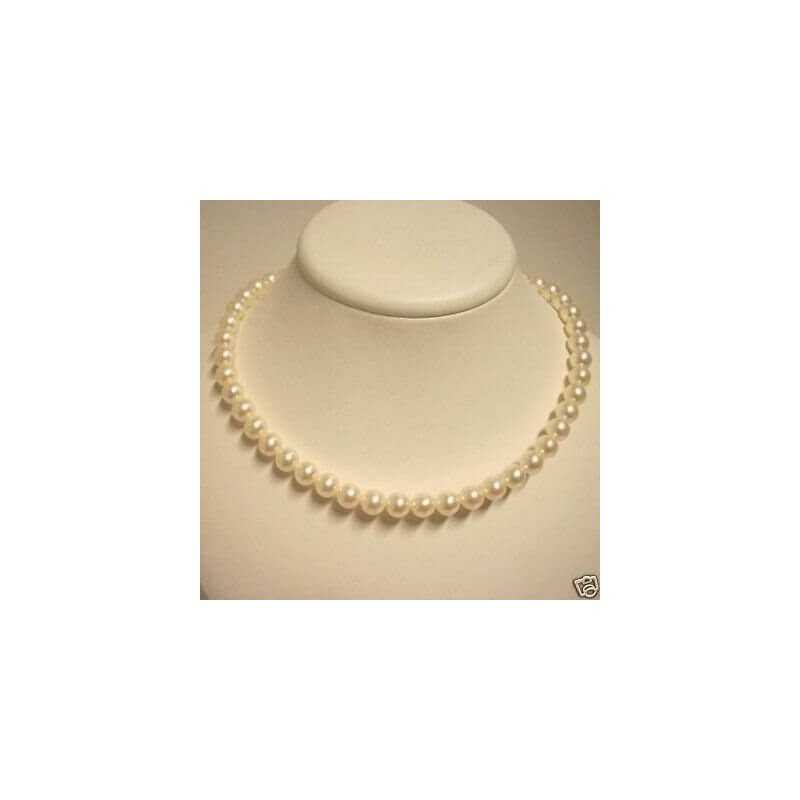 NECKLACE BEADS NATURAL 230 CT WIRE 40 CM in DIAMETER 9.0 mm