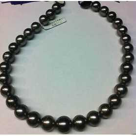 NECKLACE with PEARLS TAHITI 575 CARATS and MEASURE from 13 to 16 mm