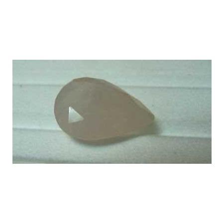 Rose quartz 8.25 carat drop