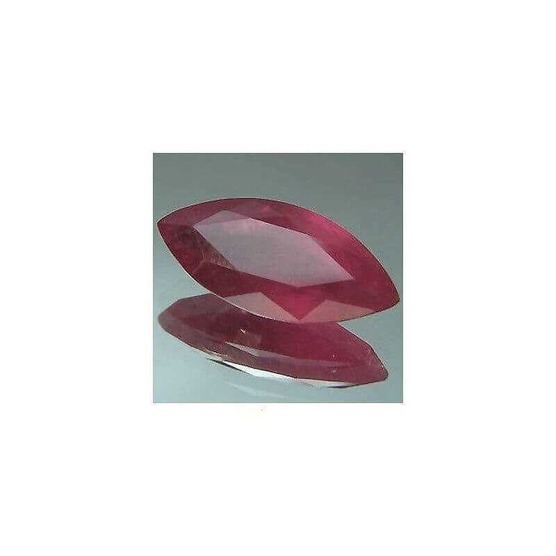 RUBY 0.60 CARAT MARQUISE 3X7 SIAM EXTRA