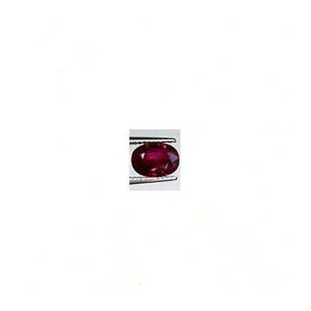 RUBIS OVALE 1.26 CT 7X5 ISDRAELE SUPPLÉMENTAIRE