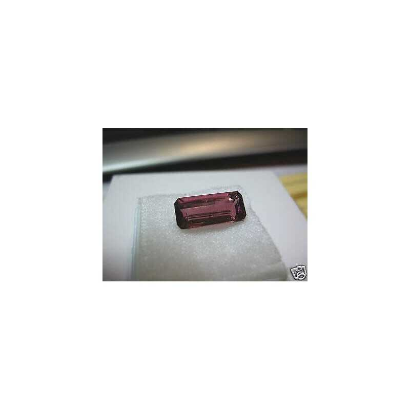 RED TOURMALINE 4.17 CARAT EMERALD FIRST QUALITY