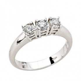 TRILOGY RING DIAMOND 0,60 CT