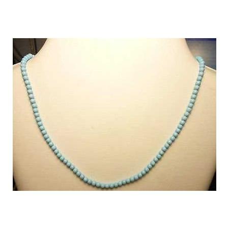 Turquoise paste wire 35 carat 4.0 mm long 50cm