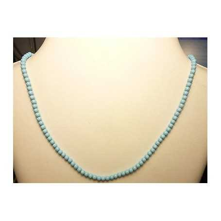 TURQUOISE WIRE 35 CARATS 4.0 mm, 50 CM LONG