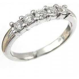 RING RING, with DIAMONDS, Carat Total 0.20 VS clarity, H Color
