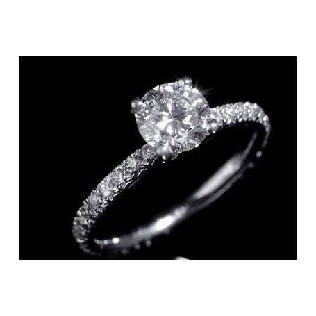 RING DIAMONDS 0.82 CT RING RING GOLD 18 KT SEX AND CITY 1.0 0.50 1.50
