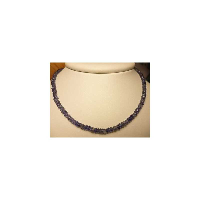 WATER SAPPHIRE IOLITE WIRE 36 CARATS THICKNESS mm LENGTH 49 CM NOT INCLUDED