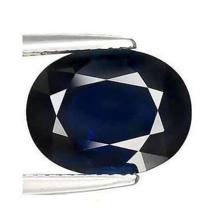 BLUE SAPPHIRE OVAL CUT 0.8 CARAT