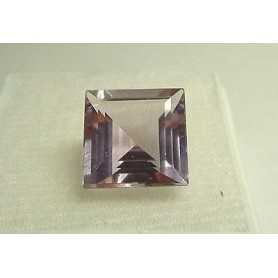 AMETHYST SQUARE CUT 10.0 CT 14 X 14 TOP COLOR