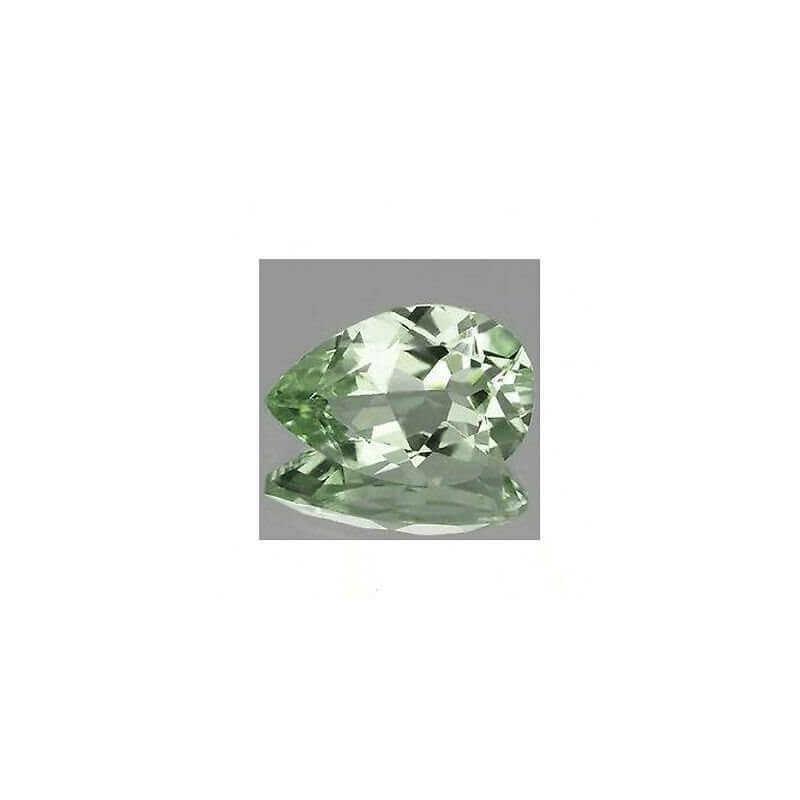GREEN AMETHYST 3.65-carat drop-cut montezuma