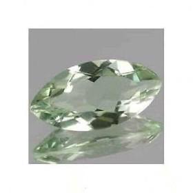 GREEN AMETHYST 5.0 carat marquise cut montezuma
