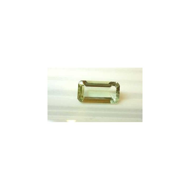 AMETISTA VERDE 7.55 carati taglio smeraldo montezuma