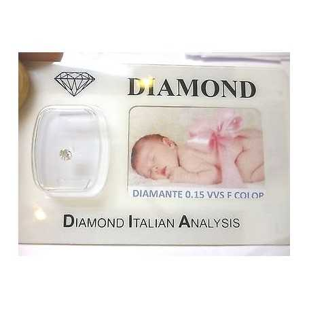 DIAMOND 0.15 vvs F color blister customizable gift box