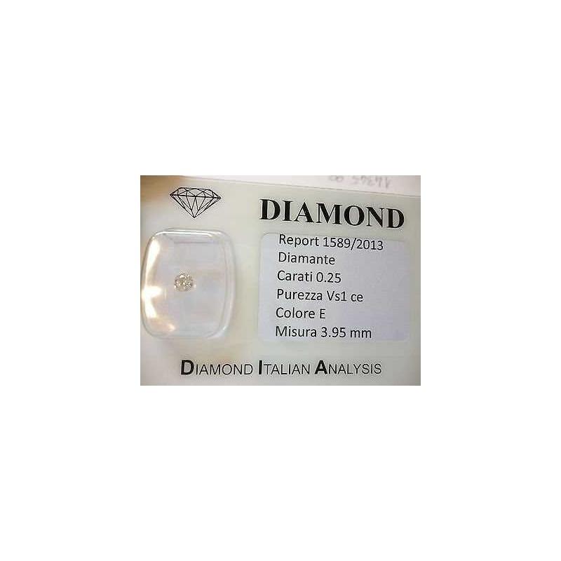 DIAMOND 0.25 CARAT E COLOR VS 1 OFFER 50 % - Lotto 0.50 0.30 0.20