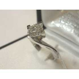 RING DIAMOND CARAT 1.20 VS1 VS 1 L GOLD 18 KT GR 10,80 LOT 1,00