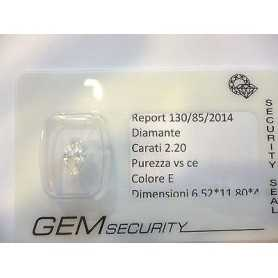 Diamante ct 2,20 marquise