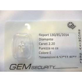 Diamond 2.20 ct marquise
