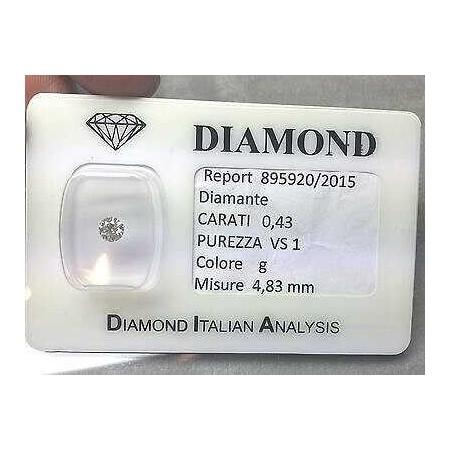 Diamant blister de 0,43