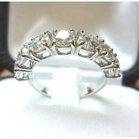 RING ring, 2.80 carat 7 stones from 0.4 lot 3,0 2,0