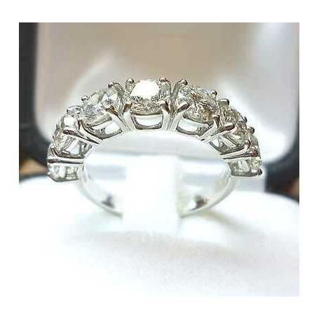 RING ring 2.80 ct 7 stone from 0.4 lot 3,0 2,0