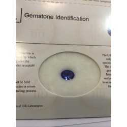 TANZANITE CERTIFIED NATURAL 1.29 CARAT L 3.00 2.00